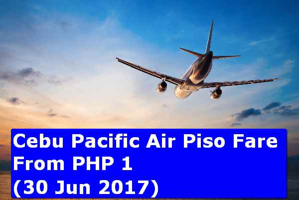 Cebu Pacific Promo (30jun2017)