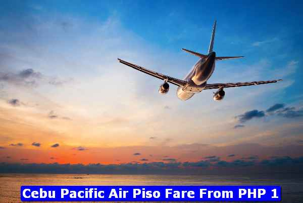 Cebu Pacific Piso Fare PHP1