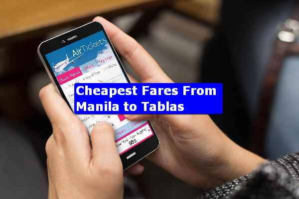 Manila to Tablas fares