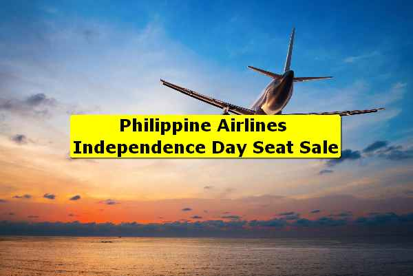 Philippine Airlines Independence Day Seat Sale