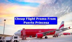 Cheap Flight Promo From Puerto Princesa