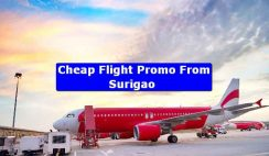 Cheap Flight Promo From Surigao