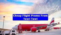 Cheap Flight Promo From Tawi-Tawi